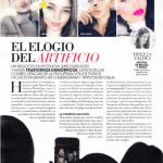 La Dra. Raquel Moreno Pentinenl en la revista MARIE CLAIRE.